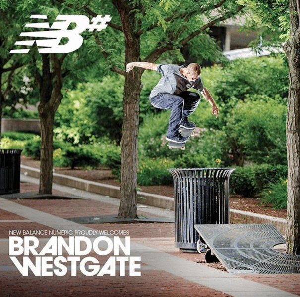 Brandon Westgate rejoint New Balance 123