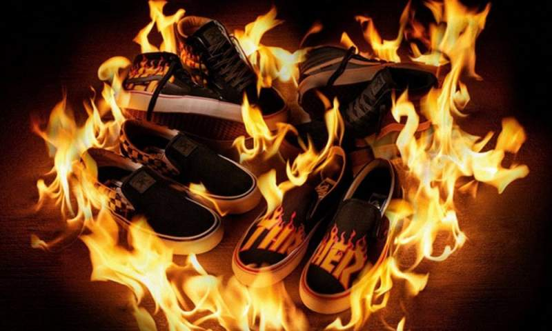 Vans x Thrasher capsule collection