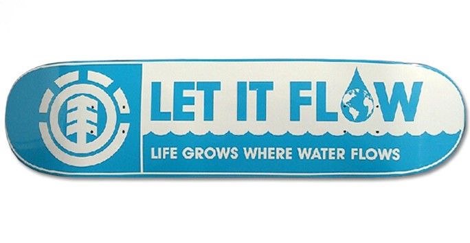 let it flow skateboard