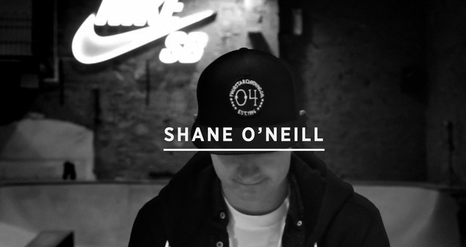 Shane O'neill From Skate Mental to primitive