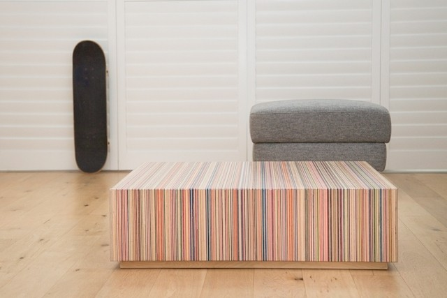 Focused Recyclez vos vieilles planches en table design
