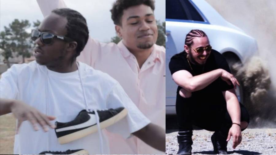 Black Koston la parodie de White iverson
